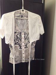 Двойная рубашка Sassofono, 38р. , состояние идеал