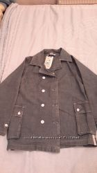 Подростковая курточка-жакет 158см джинсовая