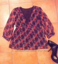 Блузка стильная легка NafNaf