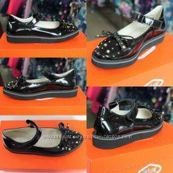 Туфли для девочки TIFLANI размеры 32-37 детская школьная обувь