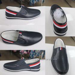 Мокасины для мальчика TIFLANI размеры 31-36 детская обувь в наличии