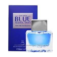 Antonio Banderas Blue Seduction. оригинал. Самые низкие цены в Украине