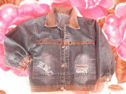 джинсовый пиджак-куртка для мальчика