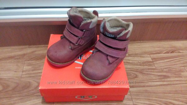 Отличные зимние ботиночки Tiflani 23p.