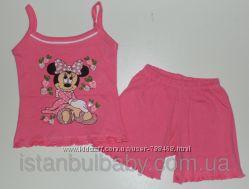 Детская одежда из Турции. Костюм Майка шорты для девочки Микки 3 года