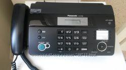 Телефон-факс модель KX-FT984 черный новый