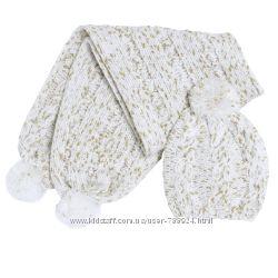 Распродажа комплектов шапочка шарфик CHICCO