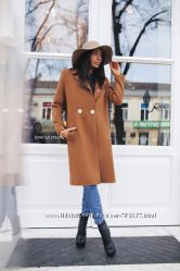 Тренд сезона. Стильное пальто CHANEL. 4 цвета.
