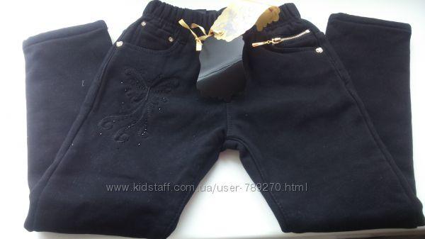 Новые брюки, лосины утепленные флисовым напылением для девочки Seagull , Ве