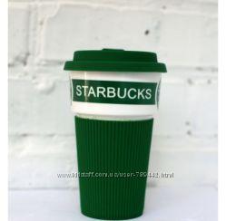 Чашка Starbucks Еco Life зеленая