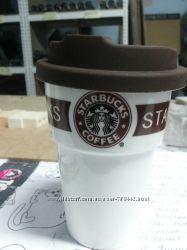 Чашка Starbucks Еco Life коричневая