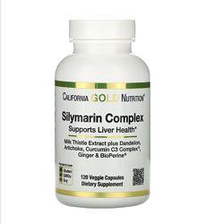 Силимарин, Silymarin Complex California Gold