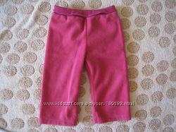 Флисовые штаны для девочки Mothercare 12-18 мес