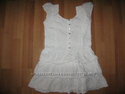 Батистовое платье на5-6лет для маленьких модниц