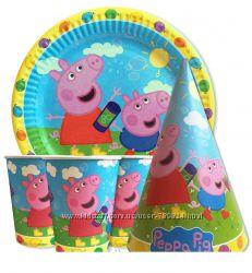Наборы для празднования Дня рождения Пеппа