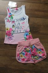 Распродажа костюм - двойка для девочек 3 - 10 лет