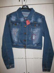Джинсовая куртка. ХЛ размер48-50
