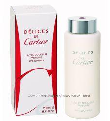 Молочко для тела Cartier DELICES DE CARTIER