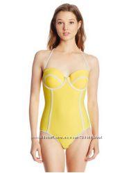 Купальник желтый бренд Body Glove слитный оригинал из США р. L