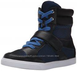 Nine West Сникерсы кроссовки хайтопы черно-синие бренд оригинал из США р38