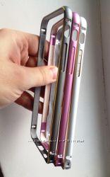 Бампер чехол алюминиевый 0, 8мм для iPhone 6, 6S