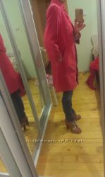 Debenhams пальто красное 12 размер debenhams размер М