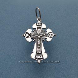 крест ника-б серебро 925