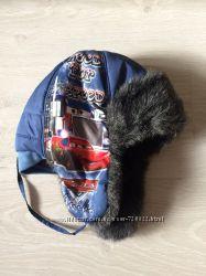 Зимняя шапка-ушанка 54 размер