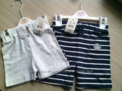 George новые крутые шорты на мальчика 3-6 и 12-18 месяцев