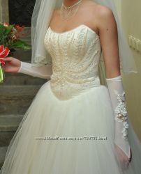 Свадебное платье Весільна сукня айвори