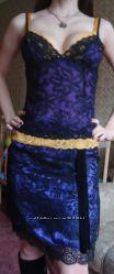 Топ в бельевом стиле Dolce&Gabbana Оригинал шелк р. 40 цена снижена