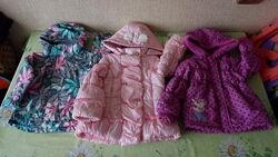 Пакет набор курток девочке 2,5-3 года