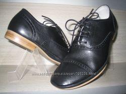 43. акция , туфли, кожа, комбинированные, к1341