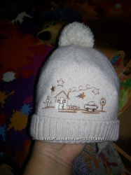 Зимняя шапочка на 1-2 года