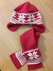 Комплект шапка шарф ТСМ 1-2г. сток