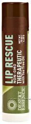 Desert Essence Lip Rescue Therapeutic with Tea Tree Oil -- 0. 15 oz