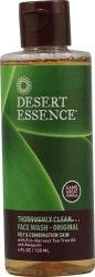 Desert Essence  Средство для умывания с маслом чайного дерева 120 ml.
