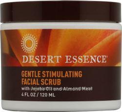Desert Essence Facial Scrub Gentle Stimulating -- 4 fl oz 120 ml.