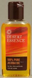 Desert Essence 100 Pure Jojoba Oil -- 2 fl oz 60 ml.