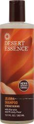 Desert Essence Jojoba Shampoo Strengthening with Keratin and  Prickly Pear.
