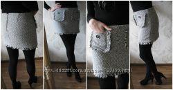 Женская юбка с карманами р 8