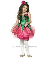 Карнавальный костюм, цветок роза