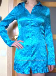 Удлиненная рубашка-кардиган