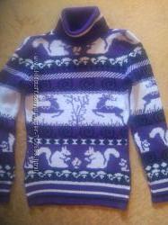 уютный свитер для  девочки