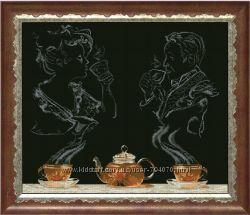 Чайная фантазия набор для вышивки крестом Краса і Творчість