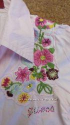 Модная рубашка и реглан с вышивкой на 5-7 лет