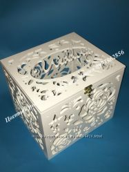 Сундук для денег, Деревянная коробка для денег, конвертов, Ларец