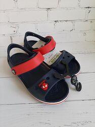 Босоножки сандалии Крокс Crocs и джибитс в подарок