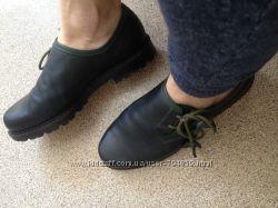стильные кожаные броги Freizeit Schapuro