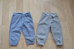 Спортивные штаны F&F и  Bluezoo 12-18 мес.